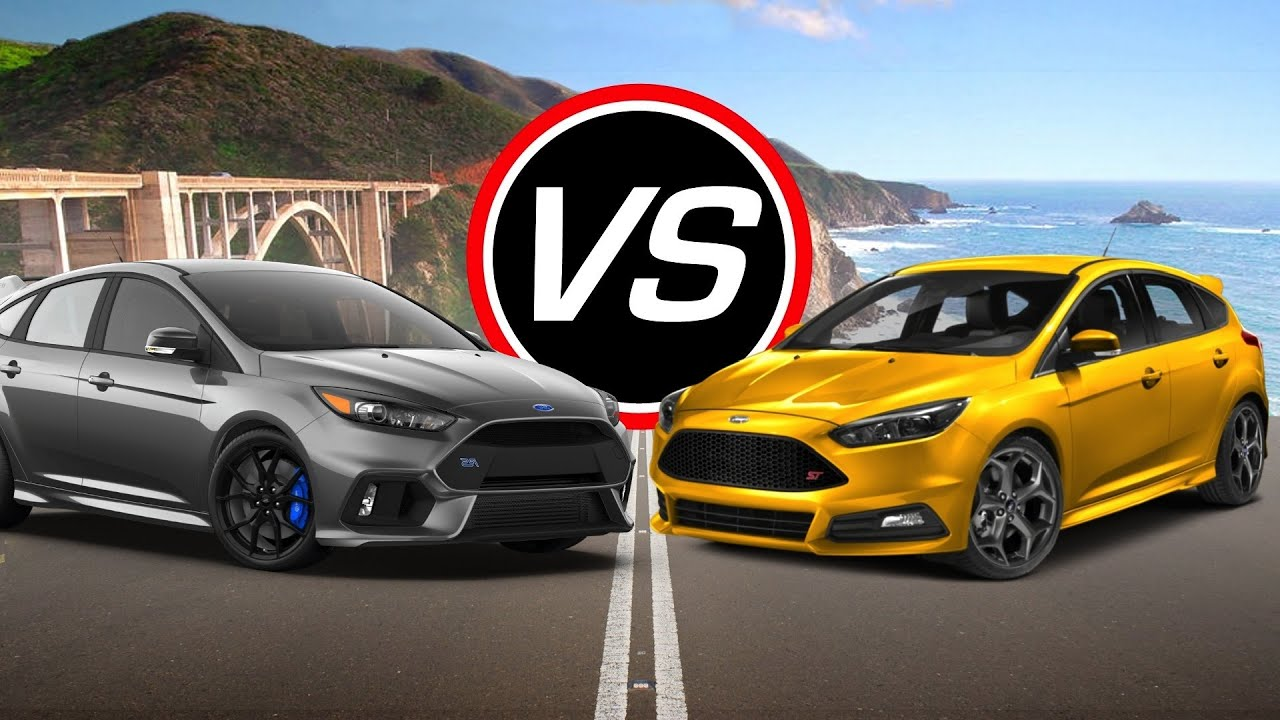 2016 Ford Focus Rs Vs
