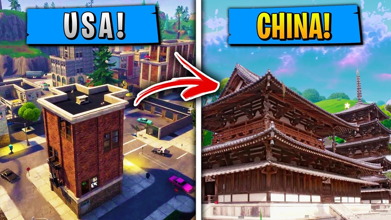top 5 things in fortnite that are different in china - how to get fortnite china exclusive items