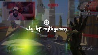 Why I Left Myth Gaming
