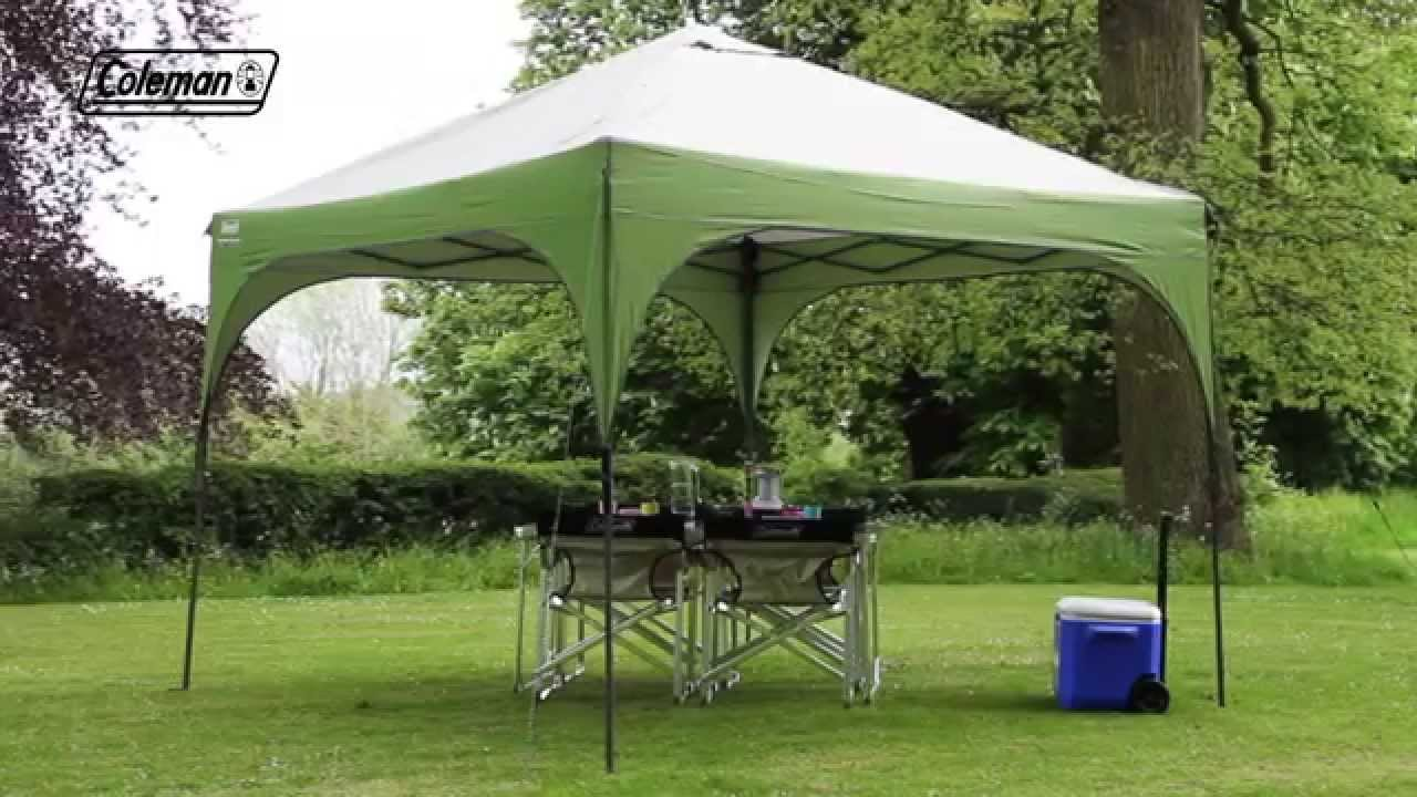 & Coleman® Instant Shelter - YouTube