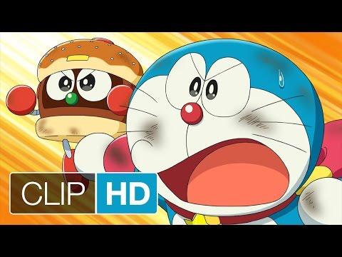 DORAEMON IL FILM - Nobita e gli eroi dello spazio - Doraemon sconfigge il dinosauro spaziale | HD