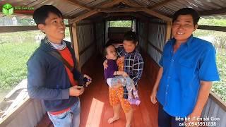 Trao Chiếc Ghe Mới Làm Nơi Sinh Sống Mới Cho Gia Đình Bé Nhật Cường Não Ung Thủy
