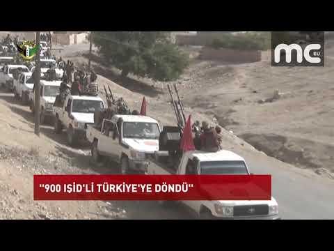 ''900 IŞİD'Lİ TÜRKİYE'YE DÖNDÜ''