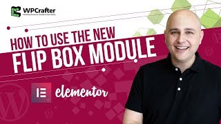 Elementor Tutorial - How To Use The Flip Box Module ???? For WordPress Page Builder