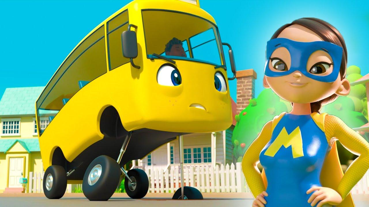 Super Bus!   @Lellobee City Farm - Cartoons & Kids Songs & Kids Songs   Lellobee
