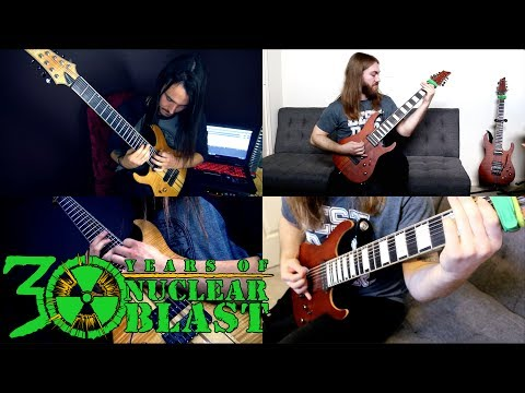 RINGS OF SATURN - Parallel Shift (OFFICIAL GUITAR PLAY THROUGH)