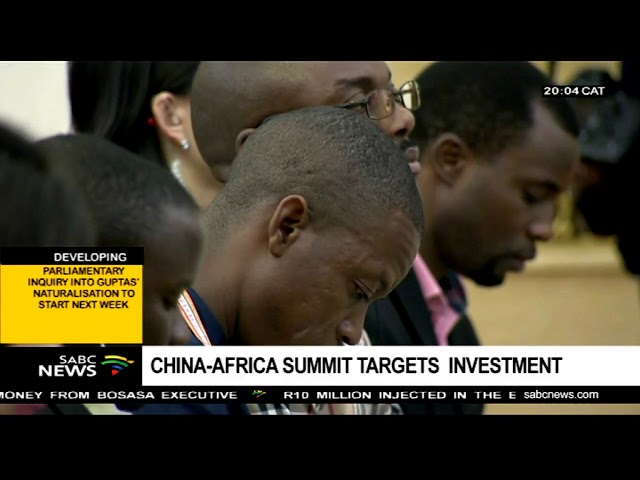 Ramaphosa hails the China-Africa partnership