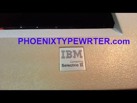 Another Bad IBM Selectric 2 II Typewriter HUB, Thump, Broken, Repair