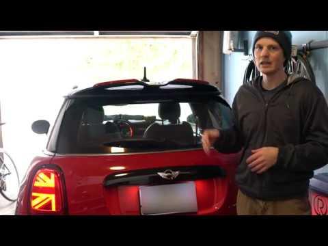 MINI Cooper Union Jack Brake Light & Blinker Fix