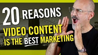 20 Reasons Why Video Content Marketing Is the BEST Kind of Marketing You Can Do