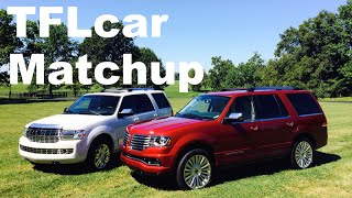 2015 Lincoln Navigator vs 2014 Navigator Matchup First Drive Review: Old vs New