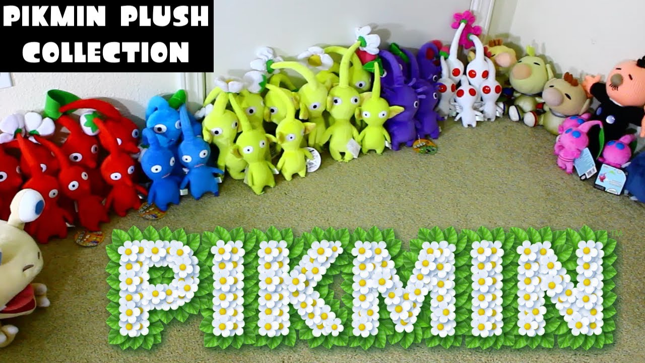 My Pikmin Plush Collection Youtube