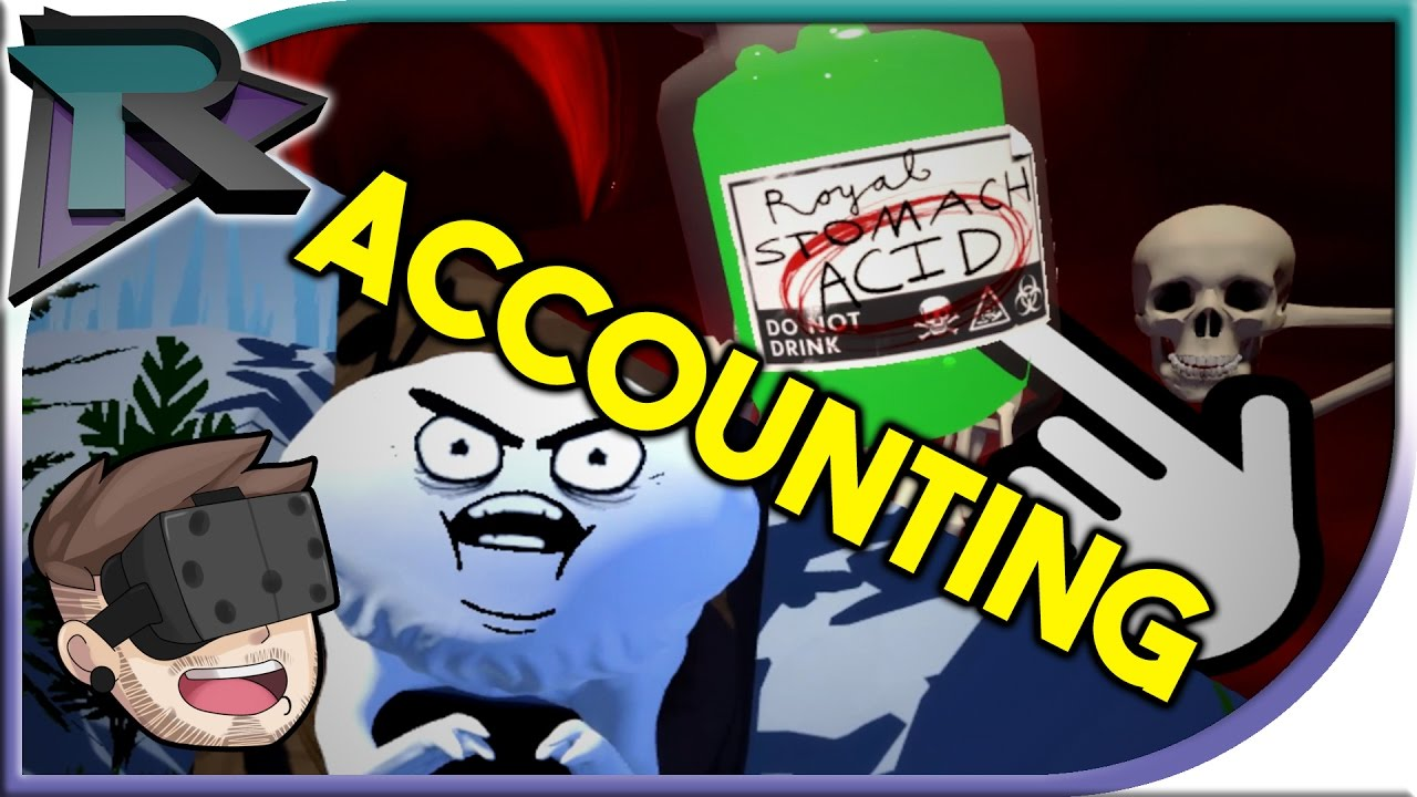 MOST BIZZARE VR GAME - Accounting + Bonus Ending? by Squanchtendo ...