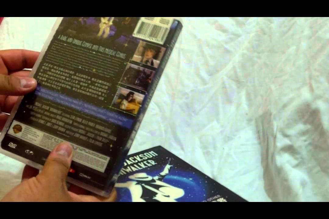 Download Unboxin my Rare DVD of Michael Jackson Moonwalker