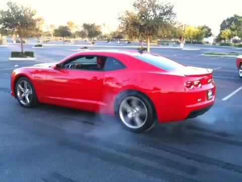 2010 camaro ss rs burnout red youtube. Black Bedroom Furniture Sets. Home Design Ideas