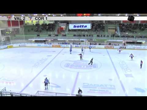 Hockey Su Ghiaccio Coppa Italia Quarti Gara 1 H.C. Valpellice-Cortina 27.11.2014