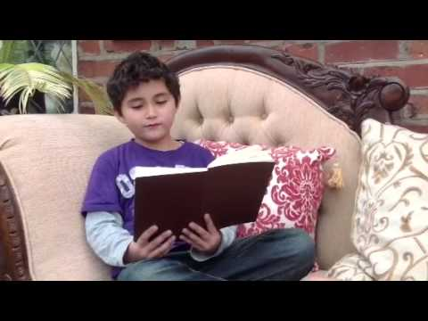 James reads 'A Fairy Song' by William Shakespeare