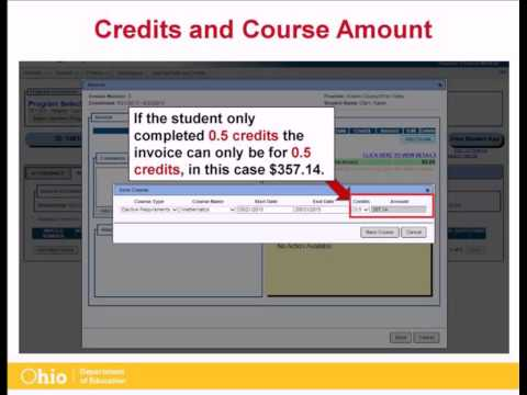 ODE: 22+ Adult High School Diploma Program Payment System (06/29/15)