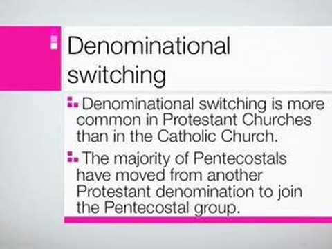 denominational switching Data shows that non-denominational churches are now the second  was of  someone who has been switching between d and nd churches,.