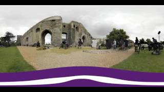 Oakley Mobile - 360º behind the scenes filming at Newark Castle
