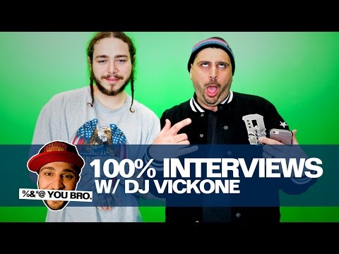 100% Interviews w/ DJ Vick One & Post Malone