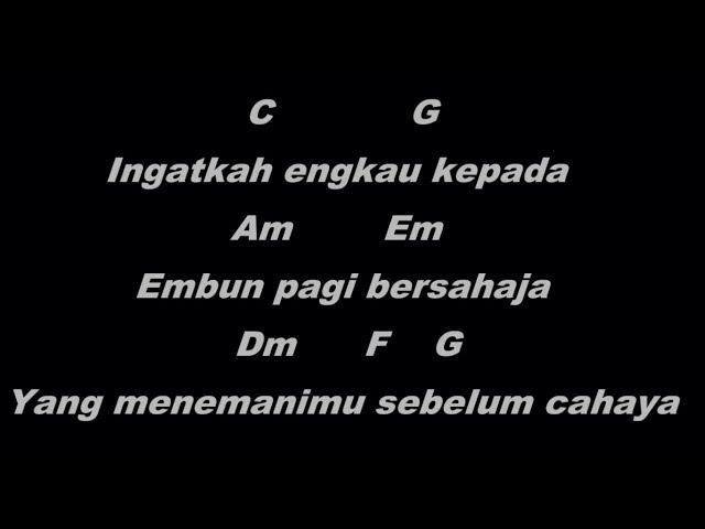 Letto Sebelum Cahaya (full version) - Kord & Lirik Lagu Indonesia