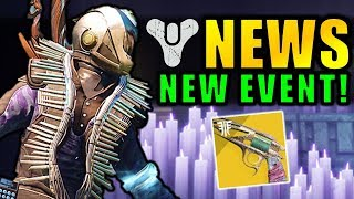 Destiny 2 News: NEW EVENT! Next Update Revealed! Festival of the Lost, Exotic Drop Rates & More!