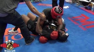 MAYWEATHER SPAR WARS: HEATED SPARRING SESSION!! WILL CLEMONS VS CHRISTIAN