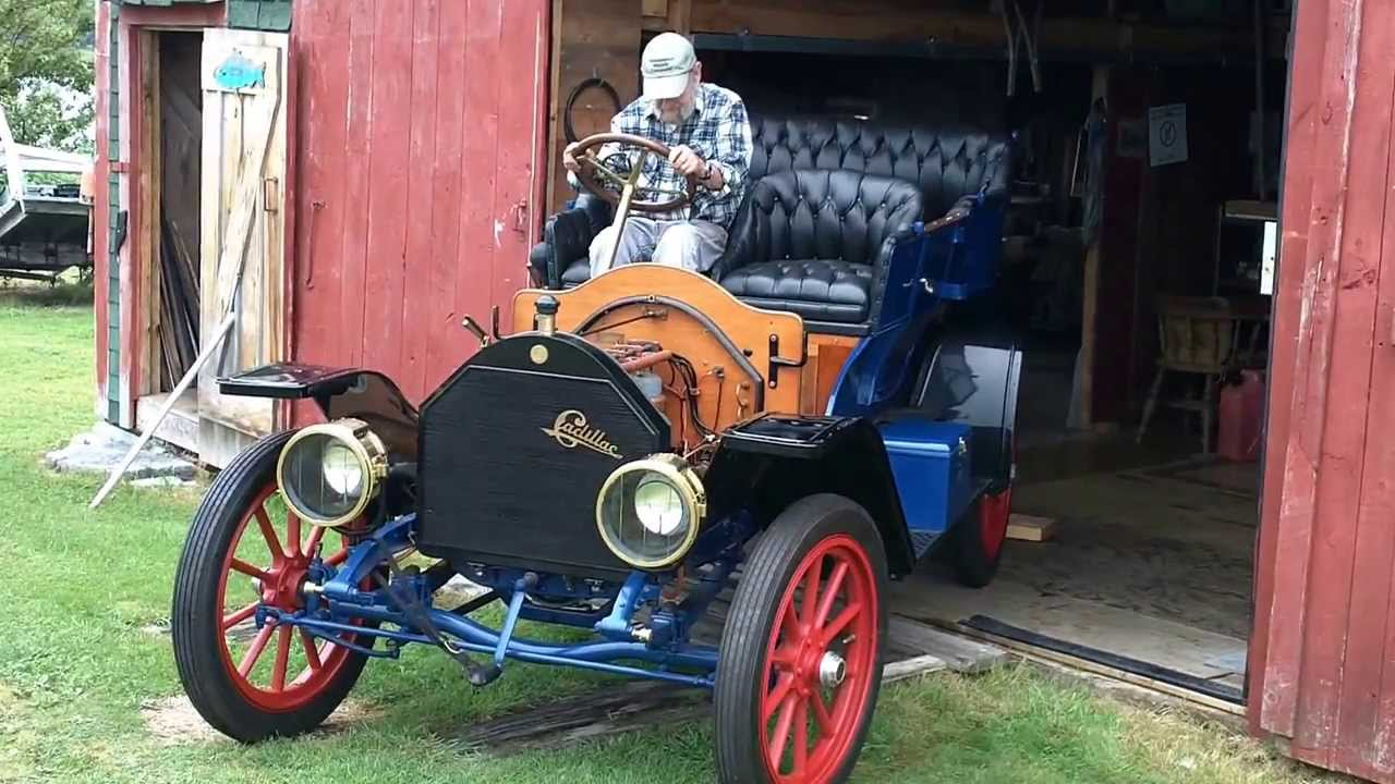 1909 Cadillac First Drive Start In 79 Years