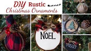 DIY CHRISTMAS DECOR | 8 EASY ORNAMENT IDEAS