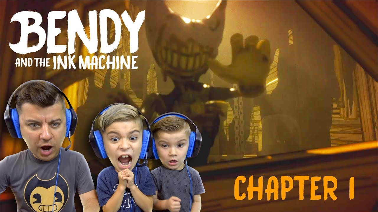 Bendy And The Ink Machine Chapter 1 Moving Pictures