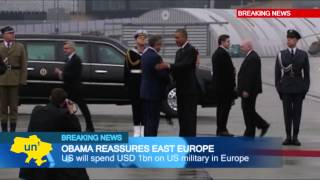 Obama Reassures European NATO Allies: US President promises to boost US Army regional presence