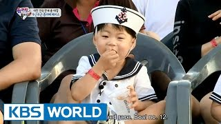 Triplets' House - Exciting Paper Boat Race (Ep.93 | 2015.09.06)
