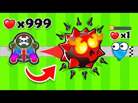 Bloons TD 6 - 1 SPIKE TOWER *ONLY* CHALLENGE