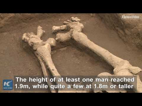 Archaeologists find 5,000-year-old giants in Shandong, China