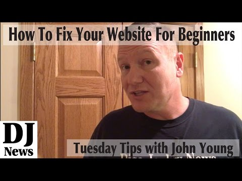 Tuesday Tip | How To Fix Your DJ Website TODAY | By The Disc Jockey News