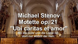 """Michael Stenov – Responsorium op. 21 """"Ubi caritas et amor"""""""