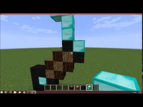 minecraft diamant schwert zum nachbauen youtube. Black Bedroom Furniture Sets. Home Design Ideas