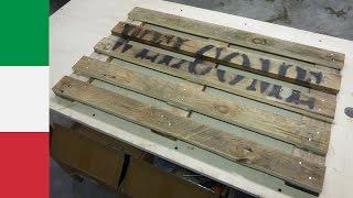 Making A Rustic Pallet Doormat