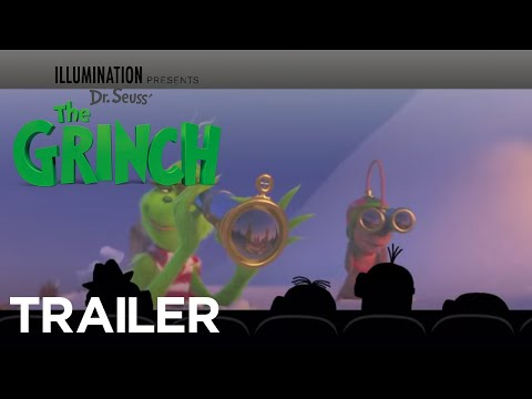 Watch The New Grinch Trailer With The Minions