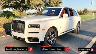 2020 Rolls-Royce Cullinan Black Badge – Redline: First Look