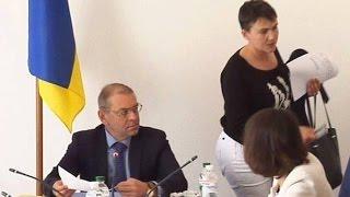 СБУ має ретельно перевірити контакти Савченко з терористами,   Комітет з питань нацбезпеки