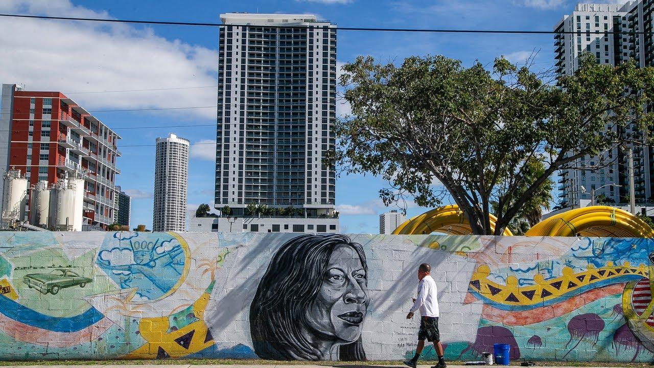Miami mural honors Vice President Kamala Harris