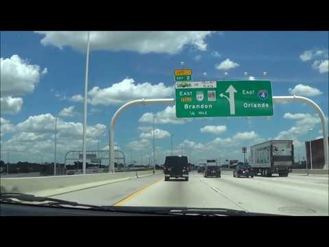 Interstate 4 East FULL ROAD (Tampa, FL to Daytona Beach, FL)