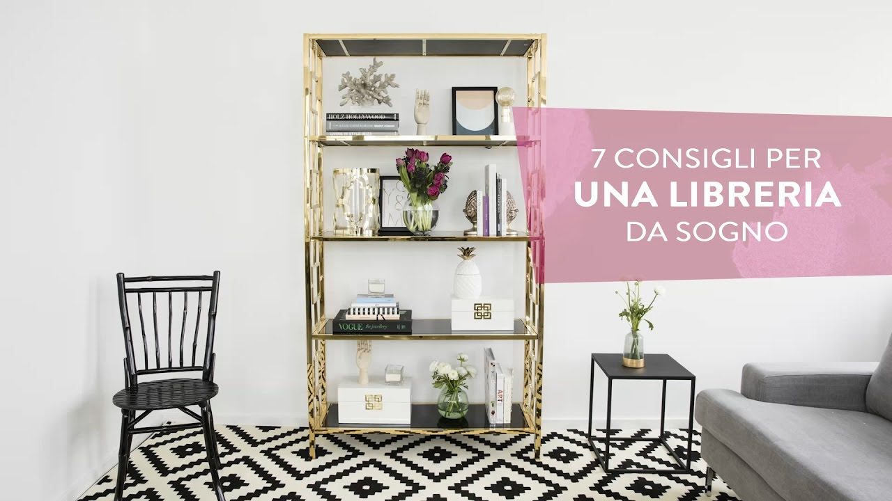 Come decorare una libreria da sogno westwing youtube for Comodini grezzi da decorare