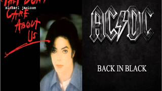 michael jackson vs acdc - They Don t Care back in black us