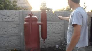 видео Дровяной газогенератор своими руками: как сделать древесный