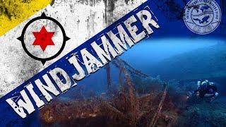 Bonaire: WindJammer (aka Mairi Bahn) Tec Wreck Scuba Dive