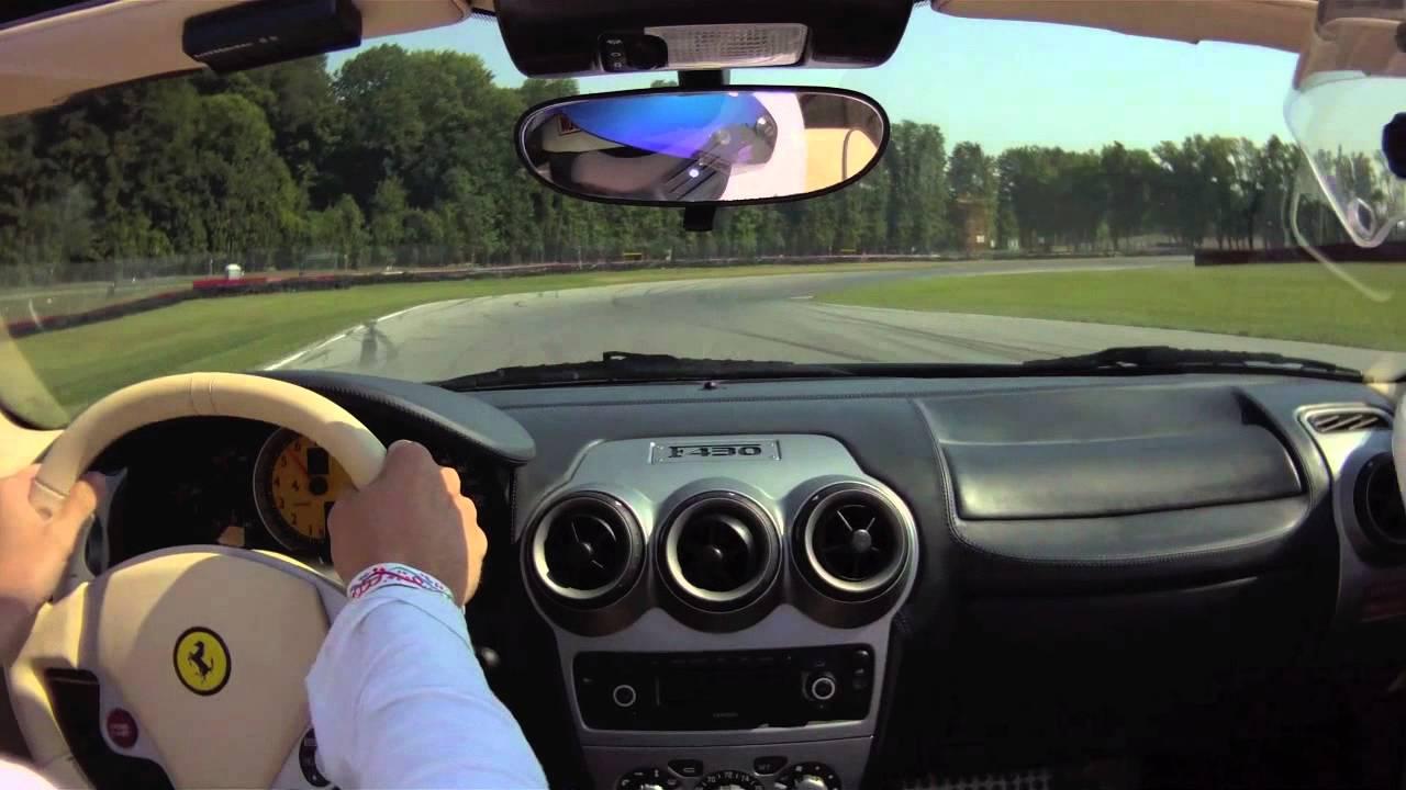 Mid Ohio Sportscar Course >> BRAKIM Racing Ferrari F430 Spider In Car Cam @ Mid-Ohio - YouTube
