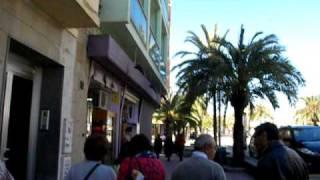 Distancia Gran Hotel Flamingo y la playa.AVI